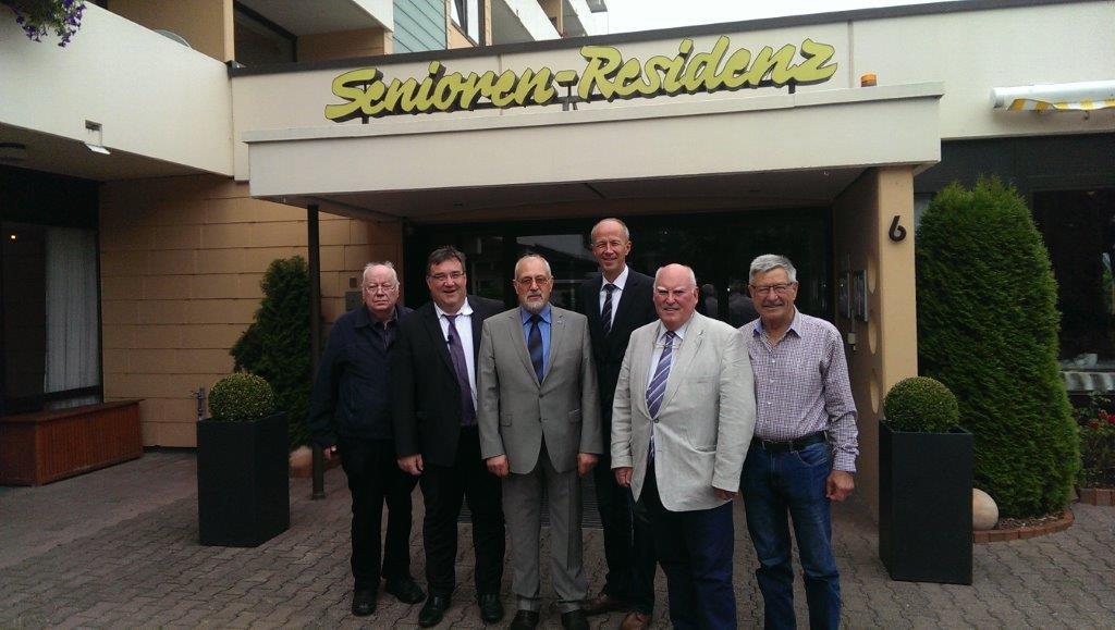 Cdu Waldeck Frankenberg Staatssekretar Mark Weinmeister Zu Gast Bei Senioren Union Bad Arolsen